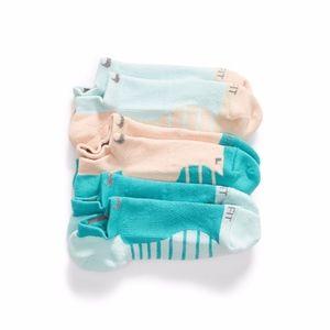 Nike 3-Pack Multicolor Dri-Fit  No Show Socks